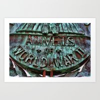 AMVETS Of World War II Art Print