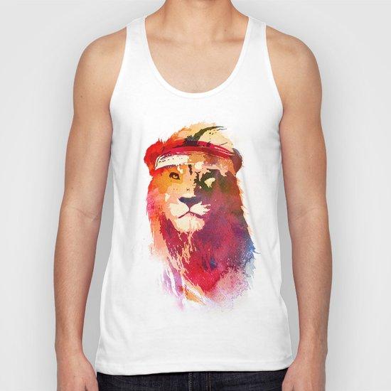 Gym Lion Unisex Tank Top