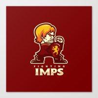 Fightin' Imps Canvas Print