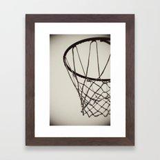 Nothing but Net Framed Art Print