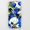 Blue Intersections iPhone & iPod Case
