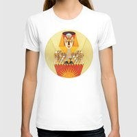 INitiation Womens Fitted Tee White SMALL