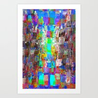 Sorting time as a remainder of balance moments. 04 Art Print