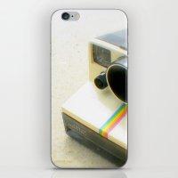 Polaroid Camera iPhone & iPod Skin