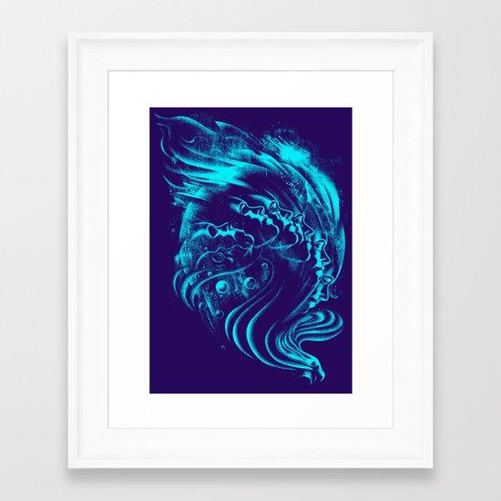 Firebird Framed Art Print