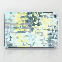 iPad Case featuring Spring Rain Tris by Beth Thompson