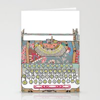 I DON'T KNOW WHAT TO WRITE YOU Stationery Cards