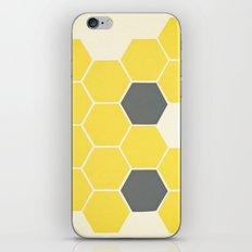 Yellow Honeycomb iPhone & iPod Skin