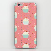 cupcakes and sprinkles iPhone & iPod Skin