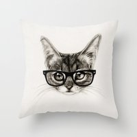 Mr. Piddleworth Throw Pillow