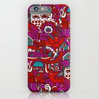 iPhone & iPod Case featuring Red by Hanna Ruusulampi