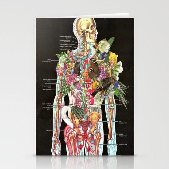 Skeleton Stationery Card