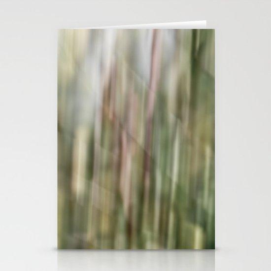 autumn blur Stationery Card