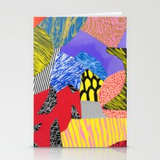 Colors & Shapes Stationery Cards