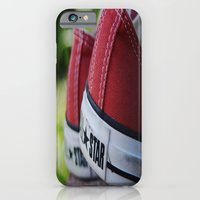 iPhone & iPod Case featuring Converse by Natalie Guardado