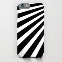 Black And White Stripes iPhone 6 Slim Case