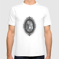 Framed Family Portrait Mens Fitted Tee White SMALL