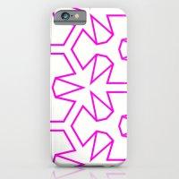 iPhone & iPod Case featuring Van Zwaben Pink Neon Pattern by Stoflab