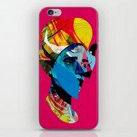 head_141113 iPhone & iPod Skin