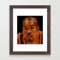 The Glove Framed Art Print