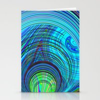 Re-Created  Hurricane 3 by Robert S. Lee Stationery Cards
