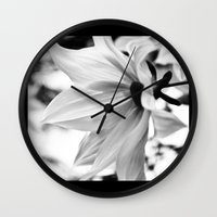 Inflorescence  Wall Clock
