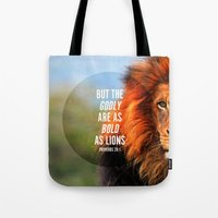 BOLD AS LIONS Tote Bag