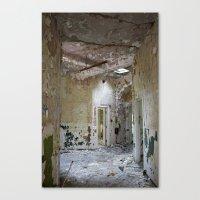 Forgotten Corridors Canvas Print
