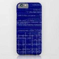 Code Dark Blue Slim Case iPhone 6s