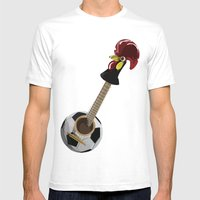 Fado, Soccer,and A Cock … Mens Fitted Tee White SMALL