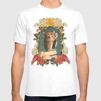 Freaky Zeaky Mens Fitted Tee White SMALL