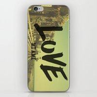 LOVE - Miami - iPhone & iPod Skin