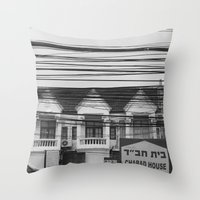 Cables III Throw Pillow