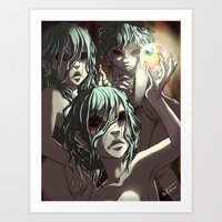 The Graeae Art Print
