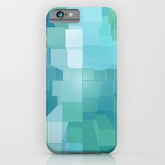 Blue and Green 3D Slim Case iPhone 6s