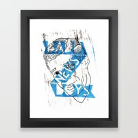 BADD NEWS BOYS number 4 Framed Art Print