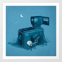 Quitting Time Art Print