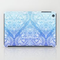 Out Of The Blue - White … iPad Case