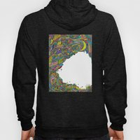 Night sky to look from the cave Hoody