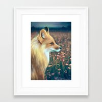 Fox Framed Art Print