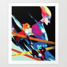 Phantom Detective Art Print