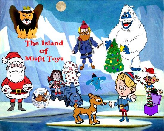 Island of Misfit Toys Art Print