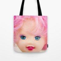 Pink & Cheery Tote Bag