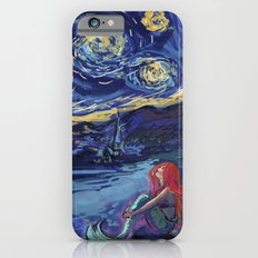 Starry Starry Night with Little Mermaid iPhone 6 Slim Case