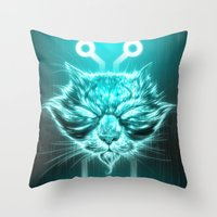 The Kron (Legacy) Throw Pillow