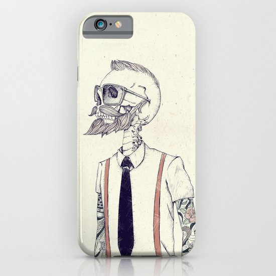 The Gentleman becomes a Hipster  iPhone & iPod Case