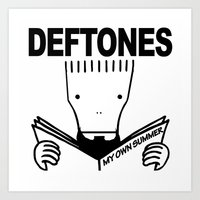 Descentones Art Print