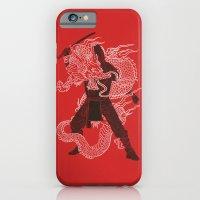 iPhone Cases featuring Dragon Ninja by Erik Sandi Satresa