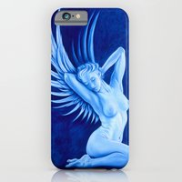 iPhone & iPod Case featuring Blue Angel by Fran Duncan
