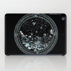 Miniature Circle Landscape 2: Astronausea.. iPad Case